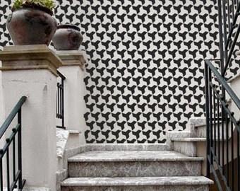 Wall STENCIL - Moroccan Tile Pattern no. 1 - REUSABLE, Easy Wall Decor, DIY Home