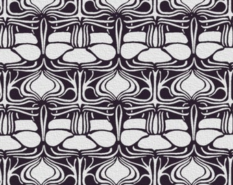 Art Nouveau Pattern STENCIL for Walls - Lily Pad Pattern - Reusable Art Deco Allover Wall Stencil