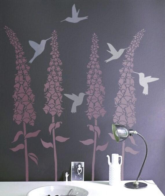 Gallery For Hummingbird Stencil Designs