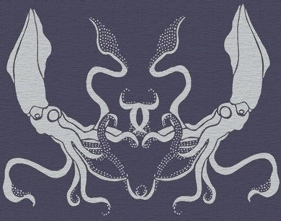 STENCIL for Walls - Giant SQUID - Large, Reusable Stencil for Walls - Durable DIY Home Decor
