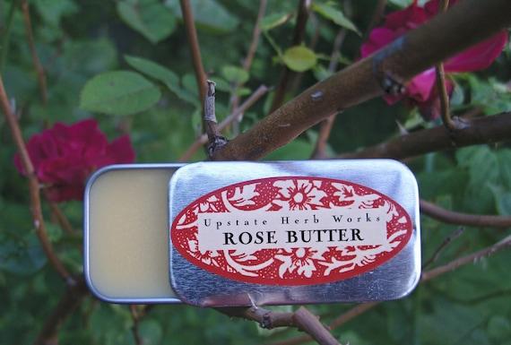 Bulgarian Rose Vegan Body Butter, Rich & Silky, Smoothing Mango Nut, Shea and Organic Oils - 0.50 oz.