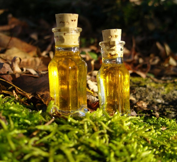 Mini-Vial Chilean Rose Oil, Infused Red Rose Petal Jojoba and Rosehip Seed Oils, Pure Essential Oils, Rich and Sultry