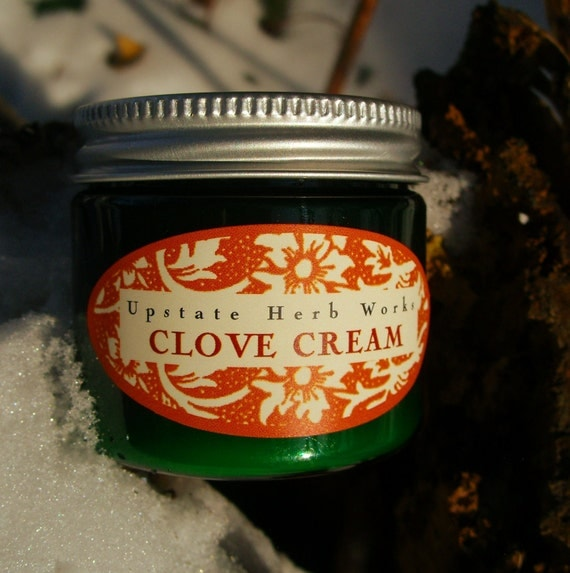 Clove Cuticle & Hand Cream, an Herbal Balm with Essential Oils, Fair-Trade Kpangnan Butter, for Cracked Cuticles and Fingers
