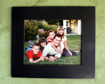 """11x14 Gallery 3"""" picture frame - Black"""