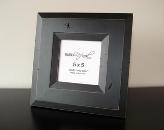 5x5 Canyon picture frame - Black