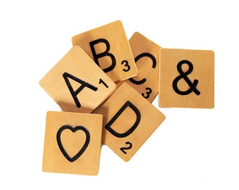Large Scrabble Tiles - Home Decor