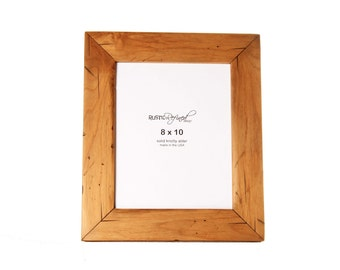 8x10 Cabin picture frame - Natural Alder