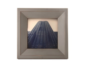 5x5 Haven picture frame - Gray Green