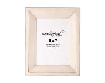 5x7 Haven picture frame - White