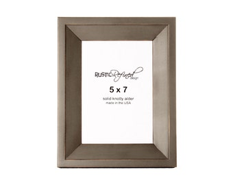 5x7 Haven picture frame - Grey Green