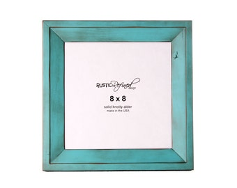 8x8 Haven picture frame - Turquoise