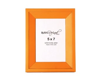 5x7 Haven picture frame - Mango
