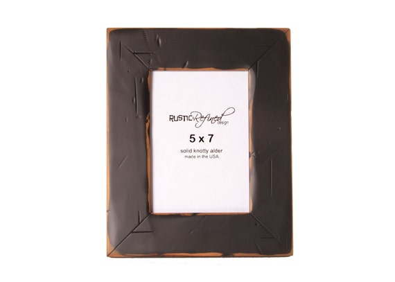 5x7 Cabin picture frame - Black