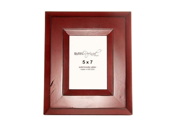 5x7 Canyon picture frame - Barn Red