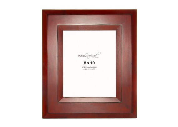8x10 Canyon picture frame - Barn Red