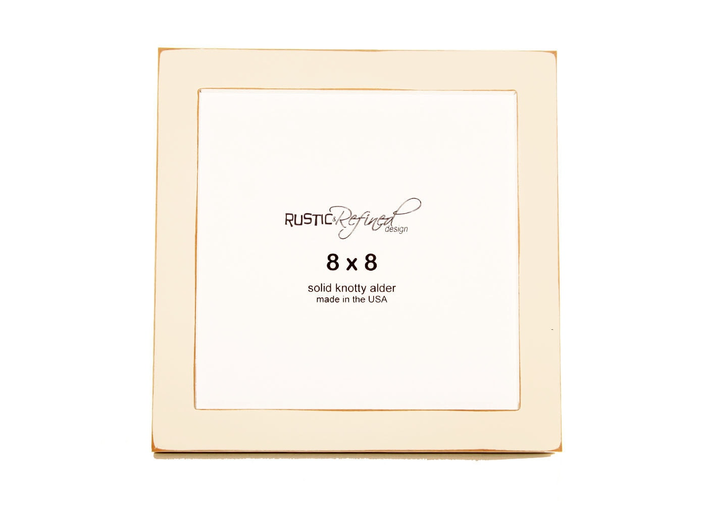 8x8 gallery 1 picture frame white zoom