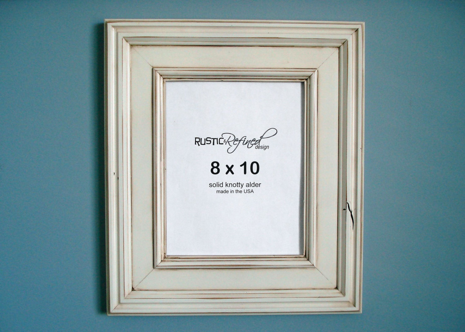 8x10 tahoe picture frame white by rusticrefined on etsy
