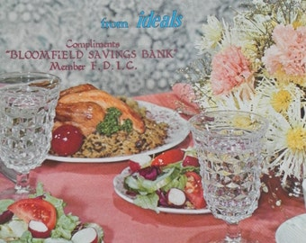 Vintage  Quick and Simple Cooking for Two Recipe CookBook 1970s