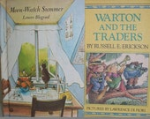 Moon-Watch Summer and Warton and the Traders - Childrens Books - Weekly Readers