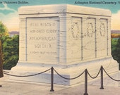 Arlington National Cemetery - Vintage Postcards - Tomb of the Unknown Soldier
