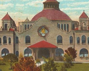Train Depot - Vintage Postcards - San Antonio, Texas