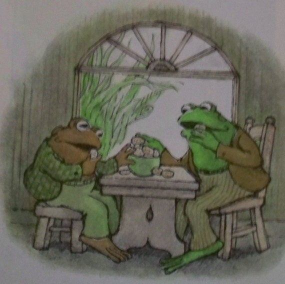 Frog and Toad Together - Vintage Children's Book - Weekly Reader