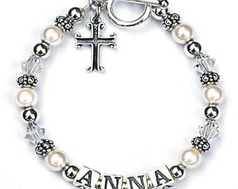 First Communion Keepsake Bracelet