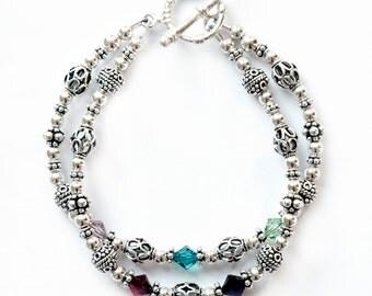 Family Birthstone Bracelet 2