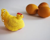 Hen Egg Cozy in Yellow