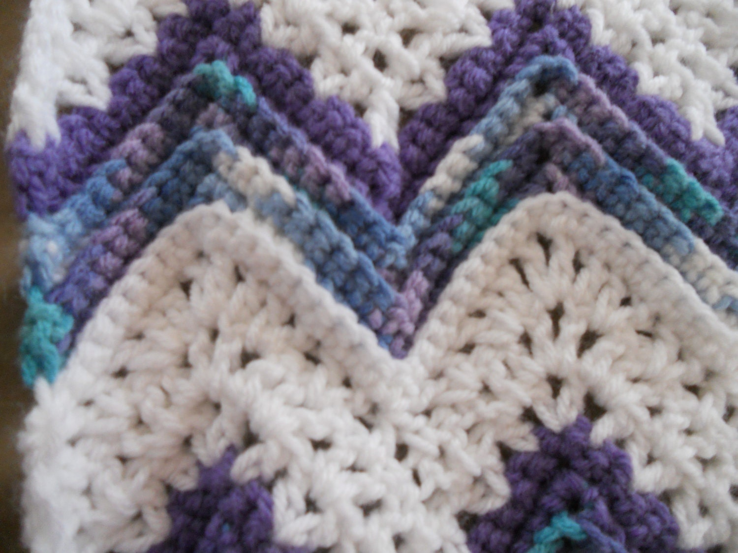 Free Pattern For Single Crochet Ripple Afghan : Crochet Round Ripple Afghan Pattern LONG HAIRSTYLES