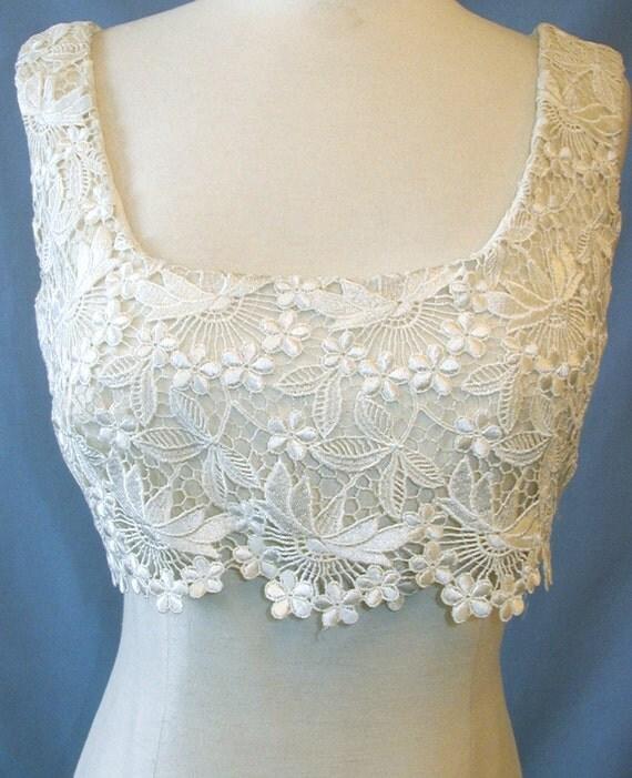 Gorgeous empire wedding dress by Carmela Sutera