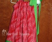 Juicy Summer-Time Watermelon Boutique Pillowcase Dress 3T
