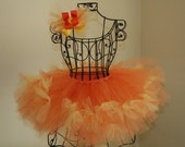 Little Miss Sunshine Sunflower TuTu with Matching Hair Bow- 5T