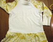 Yellow Poppy Ruffle Dress (RESERVED)
