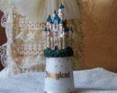 Vintage Disneyland Castle Thimble