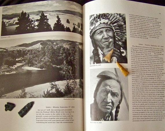 Vintage Lewis and Clark Journey Hardcover Book RESERVED KAREN
