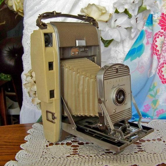 Model Land Movie: Vintage Polaroid Land Camera Model 800 Kodak Camera Retro