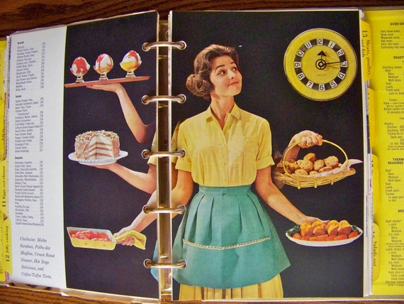 Vintage Better Homes and Gardens Cookbook Gold Souvenir Edition Fall 1964