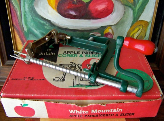 Vintage Apple Parer Corer Slicer Original Box 1950s