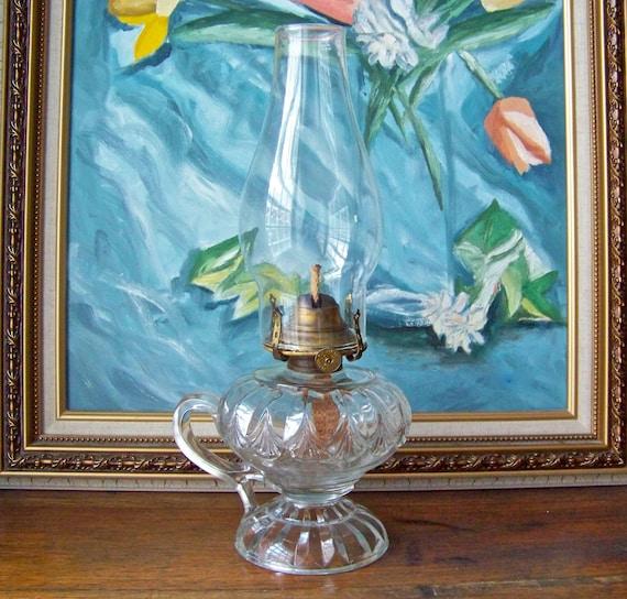 Vintage Finger Oil Lamp