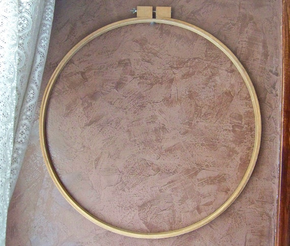 Vintage Quilt Hoop Extra Large Round