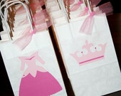 AURORA- 12 Personalized Treat Bags- Mix and Match- Great for Pinata Candy, Party Favors