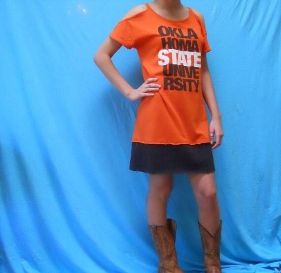 OSU TShirt Game Day Dress - Football Fashion