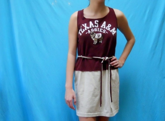 Texas A&M GameDay Dress - Check out the back of this Aggie Apparel