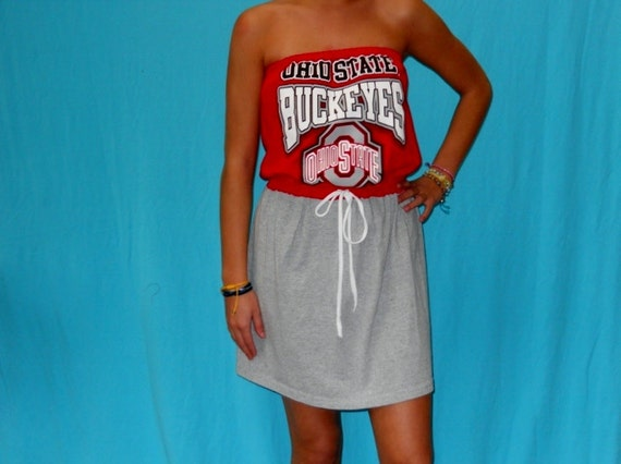 Ohio State Game Day Dress - Buckeyes Apparel