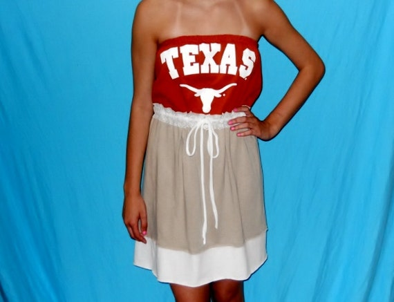 Texas Longhorns TShirt Game Day Dress - Tailgate in Style