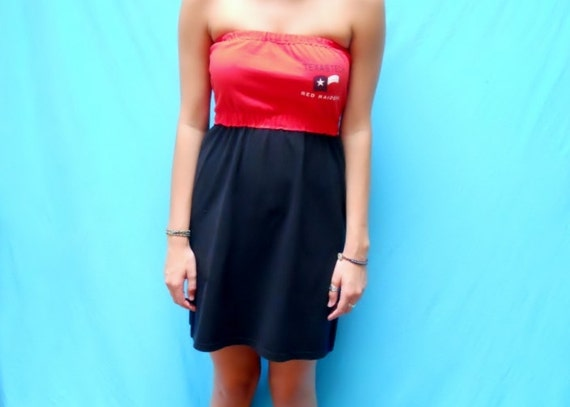 Texas Tech GameDay Dress - Check out the back of this dress - Tailgate in Style