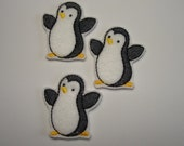 PENGUIN Machine Embroidered Embellishments / Appliques