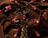 Tree Earing Organizer  Stand - Made of Lace and Hangers