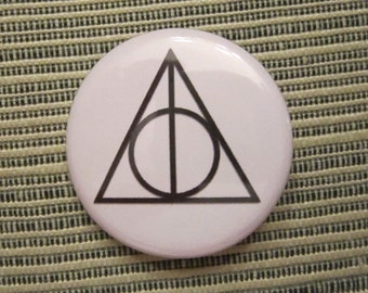 Deathly Hallows 1.25 inch Pinback Button